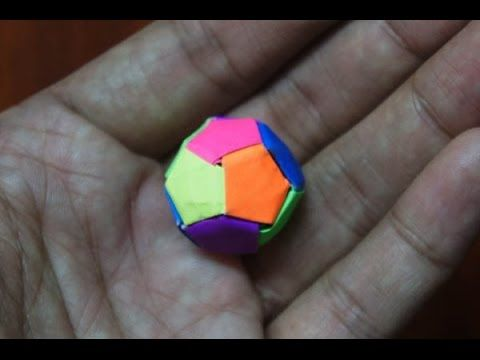 modular origami how to make modular star sphere origami