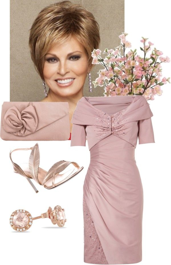 Mature woman wedding look\