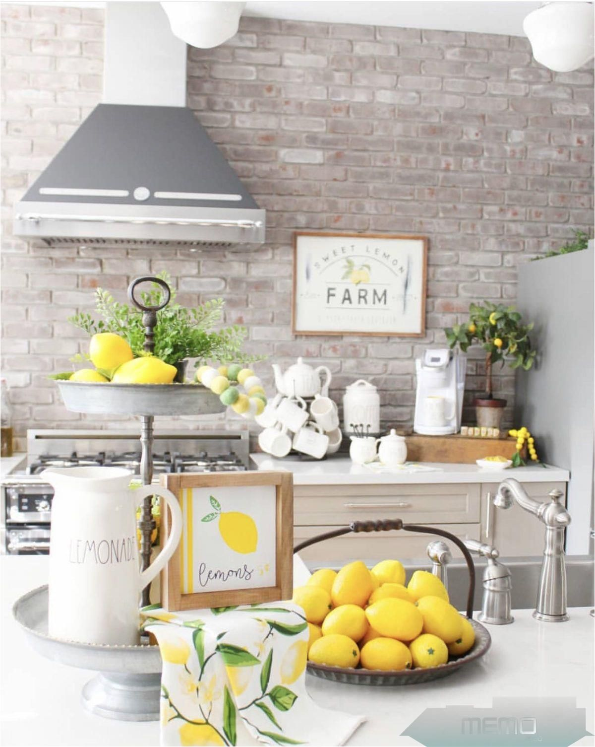 Jun 8, 8 - Lemon Decor Inspiring lemon decor ideas for your