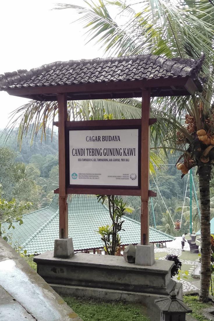 Candi Gunung Kawi Di 2020 Bali Candi Pantai