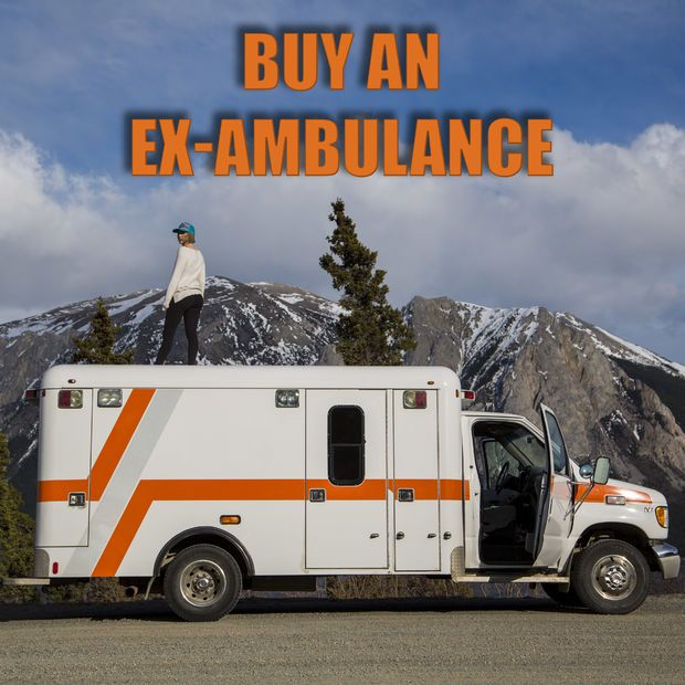 How To Buy An Ex Ambulance Ambulance Motorcycle Camping Gear