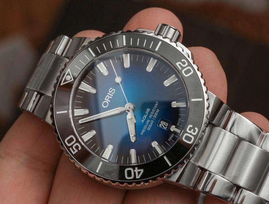 471ee6f04 ICYMI: Oris Aquis Clipperton Limited Edition Watch Hands-On #wysluxury