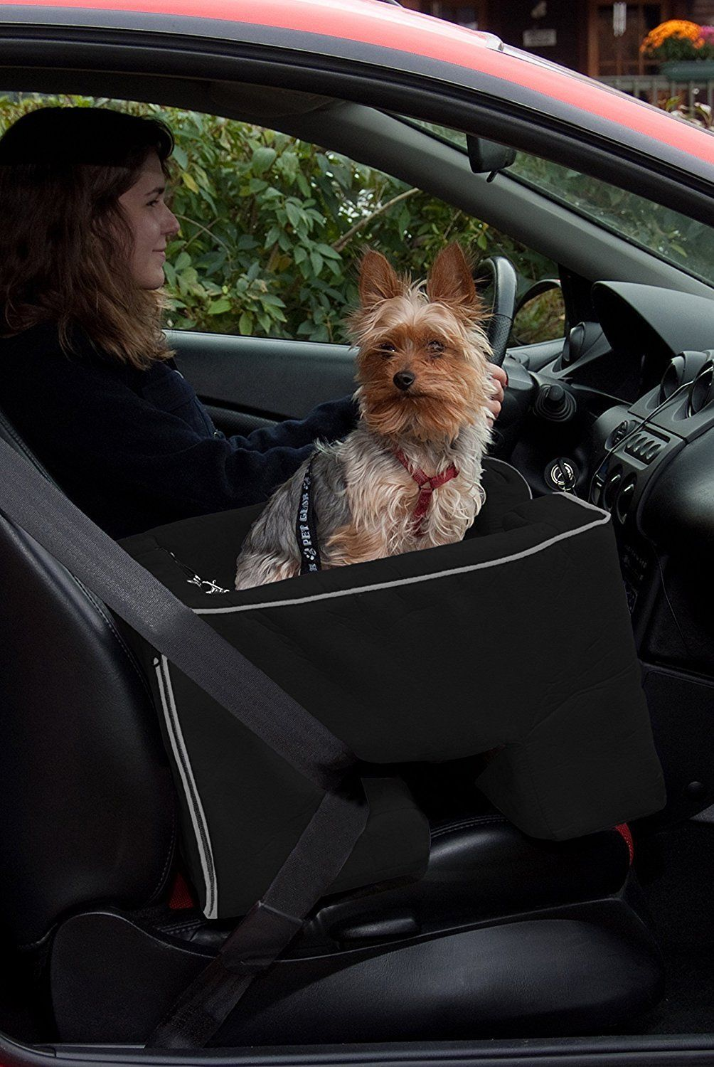 Car seats and barriers dog seats large dog booster car seat