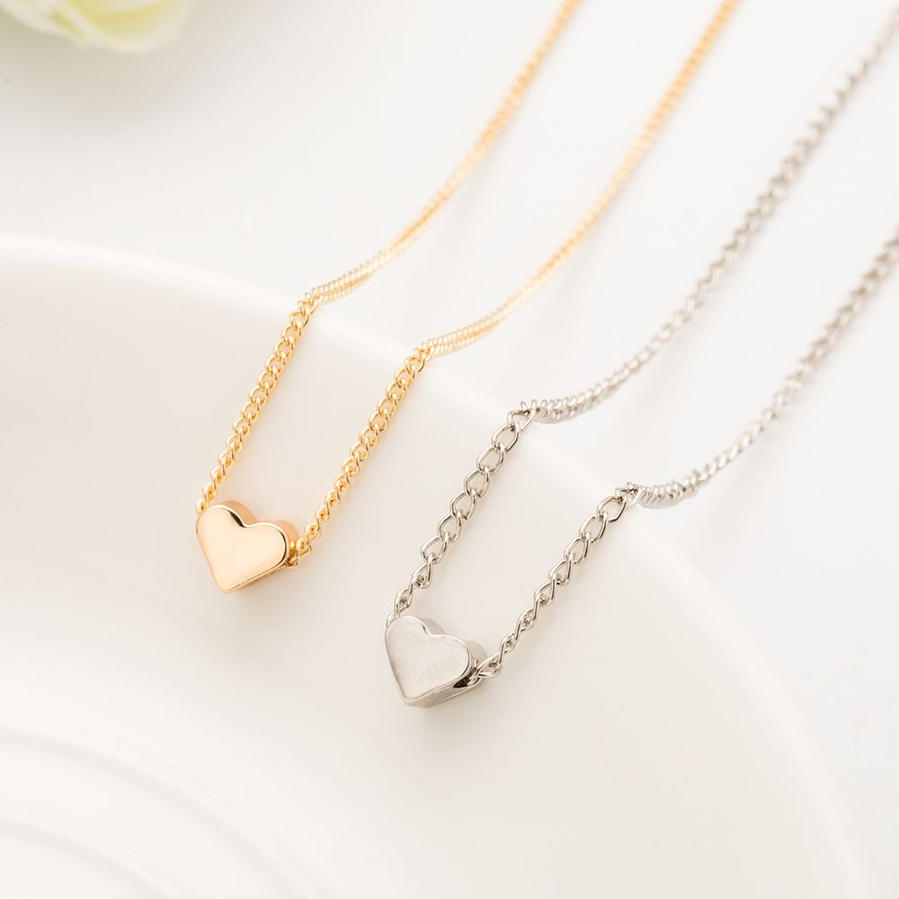 355adf749 Lovely gift New Tiny Elegant Sweet Little Gold Love Heart Cute Short  Necklace Present Gift //Price: $6.99 & FREE Shipping // #decor #design