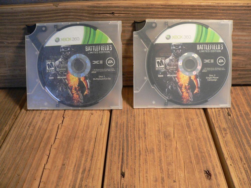 Battlefield 3 Limited Edition Microsoft Xbox 360 2011 2