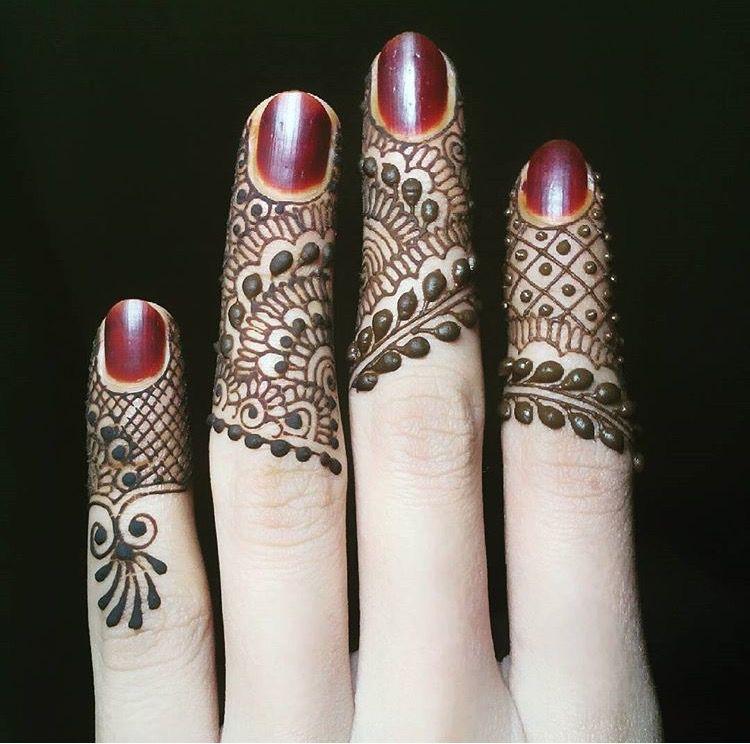 Mehndi On Fingers Only : Finger design mehandi designs pinterest