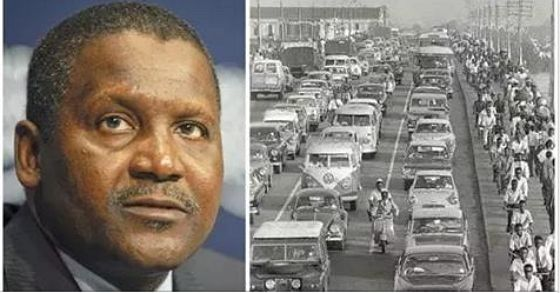 Aliko Dangote says he used okada in Lagos 39 years ago