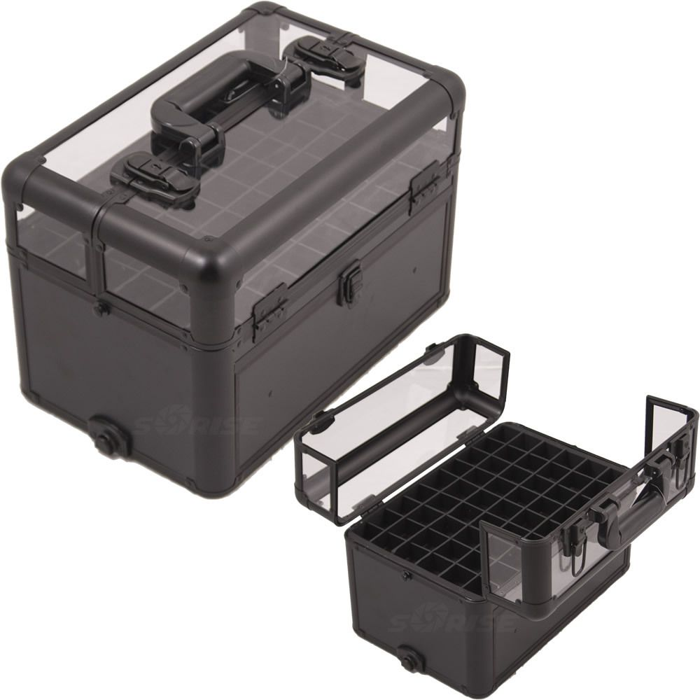Pro Storage Cases For Nail Polish Lipstick And Foundations Makeup Creations