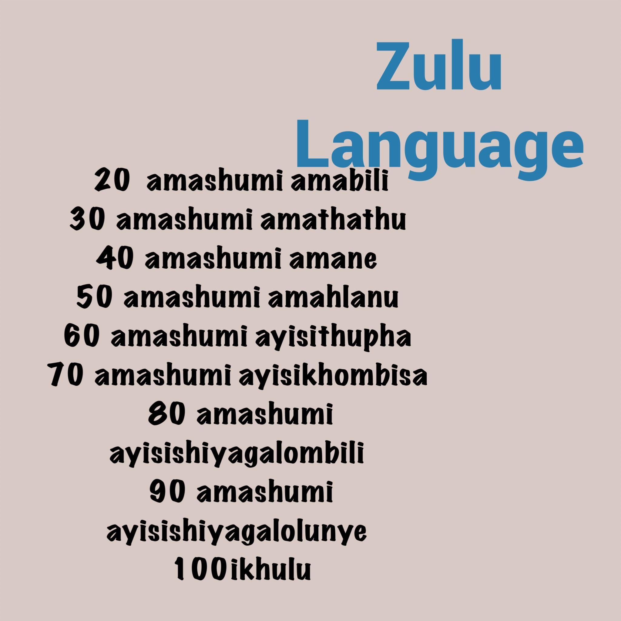 Pin On Numbers In Bantu Languages
