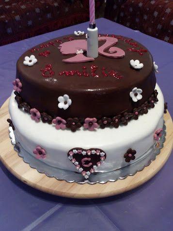 For Emilie... Barbie Birthday Cake