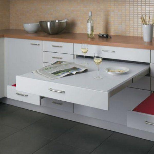 12 astuces gain de place pour am nager ma petite cuisine - Astuces rangement gain de place ...