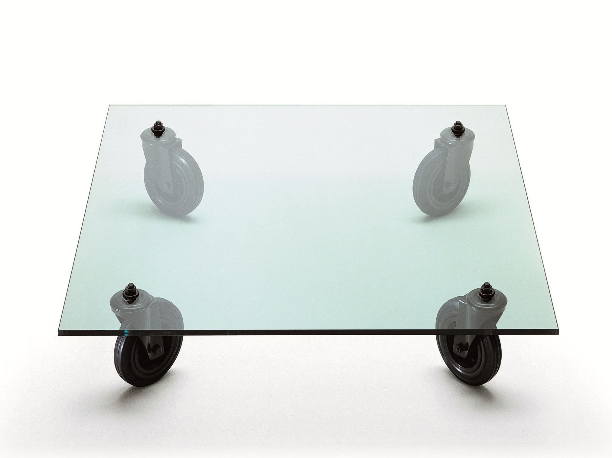 Buy Online Tavolo Con Ruote By Fontanaarte Square Float Glass Coffee Table With Casters Design Coffee Table Coffee Table With Wheels Coffee Table With Casters [ 1516 x 2024 Pixel ]
