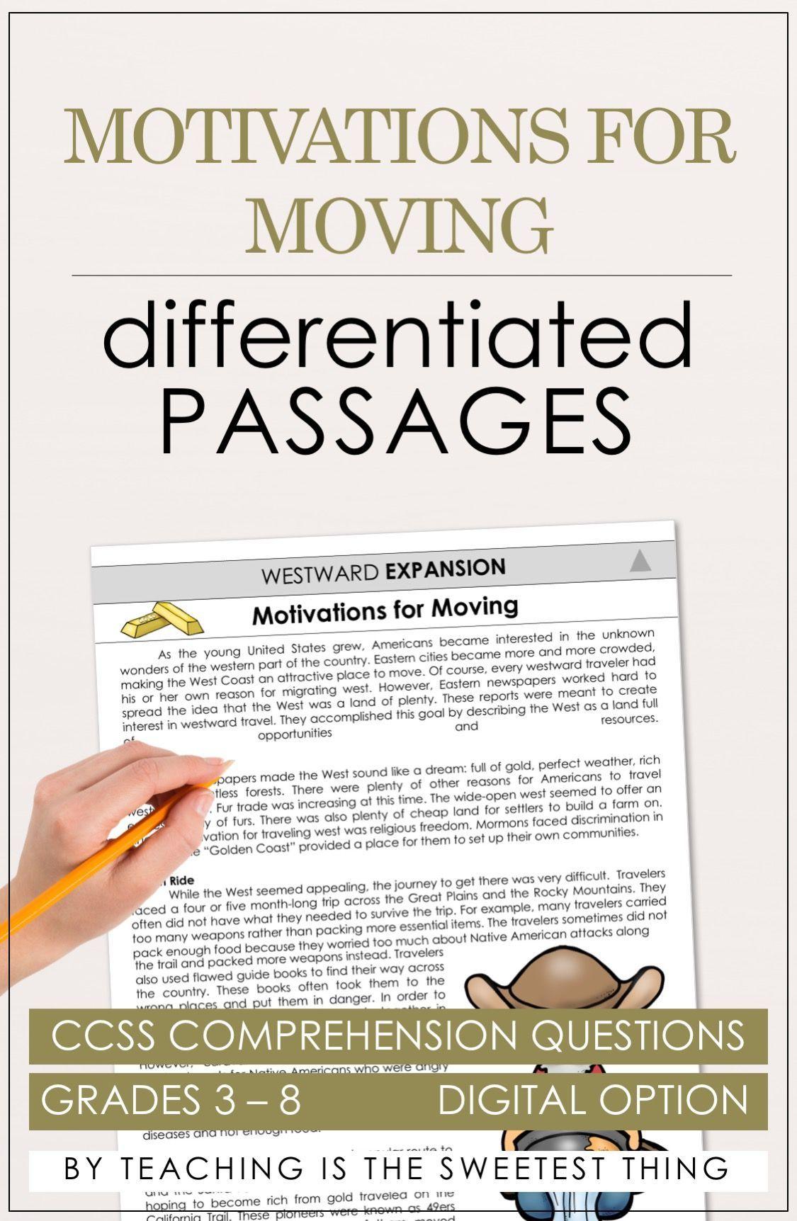 Westward Expansion Vol 2 Passages
