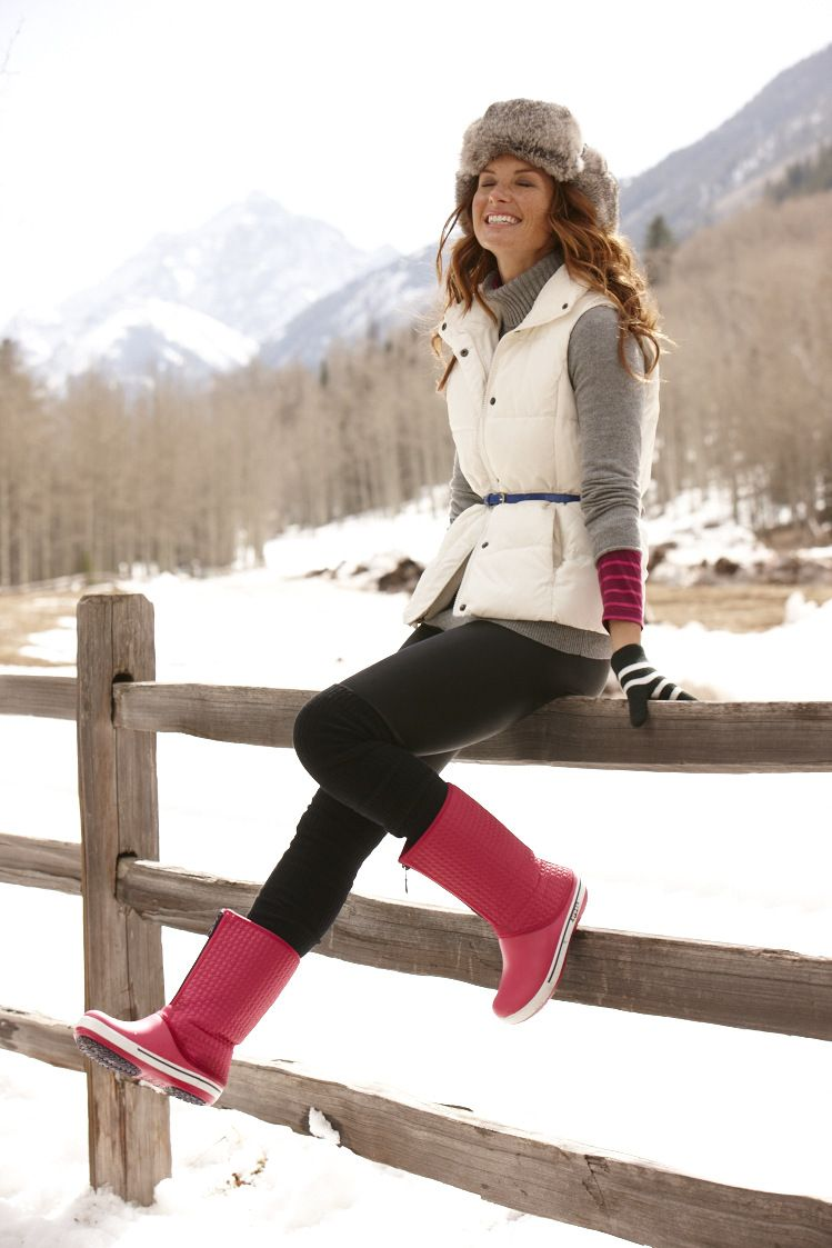 6499dcb93b6 Women s Crocband™ II.5 Winter High Boot by Crocs