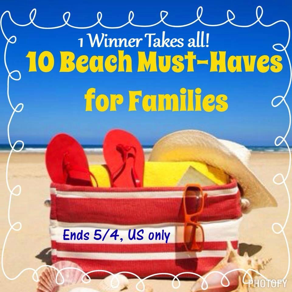 10 beach must haves giveaway