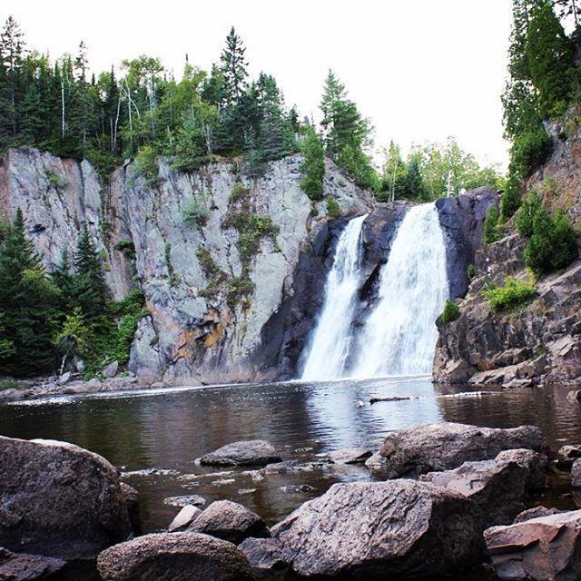 High Falls, Tettegouche State Park #Minnesota #stateparks  #naturephotography…