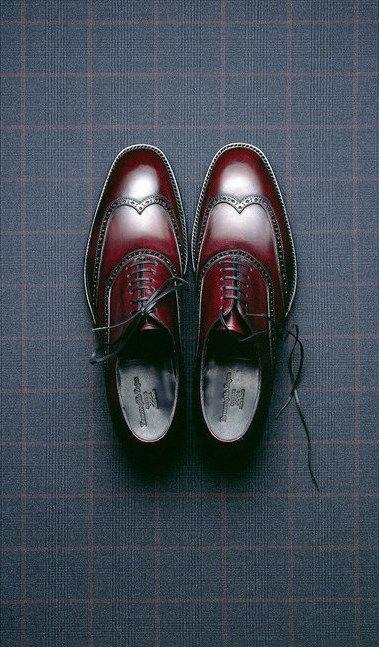 Ermenegildo Zegna shoes, photography by Mitchell Feinberg.
