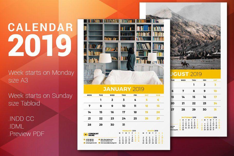 Wall Calendar 2017 in 2020 Calendar 2020, Wall calendar