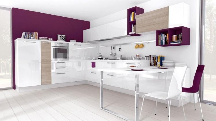 vedi colori interessanti cucine moderne - arredo cucina moderna, Hause ideen
