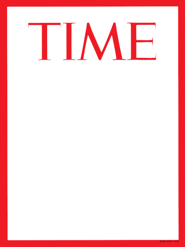 Time Magazine Cover Dryden Art Magazine Cover Template