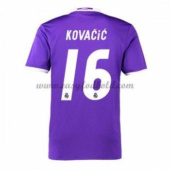 Fodboldtrøjer La Liga Real Madrid 2016-17 Kovacic 16 Udebanetrøje