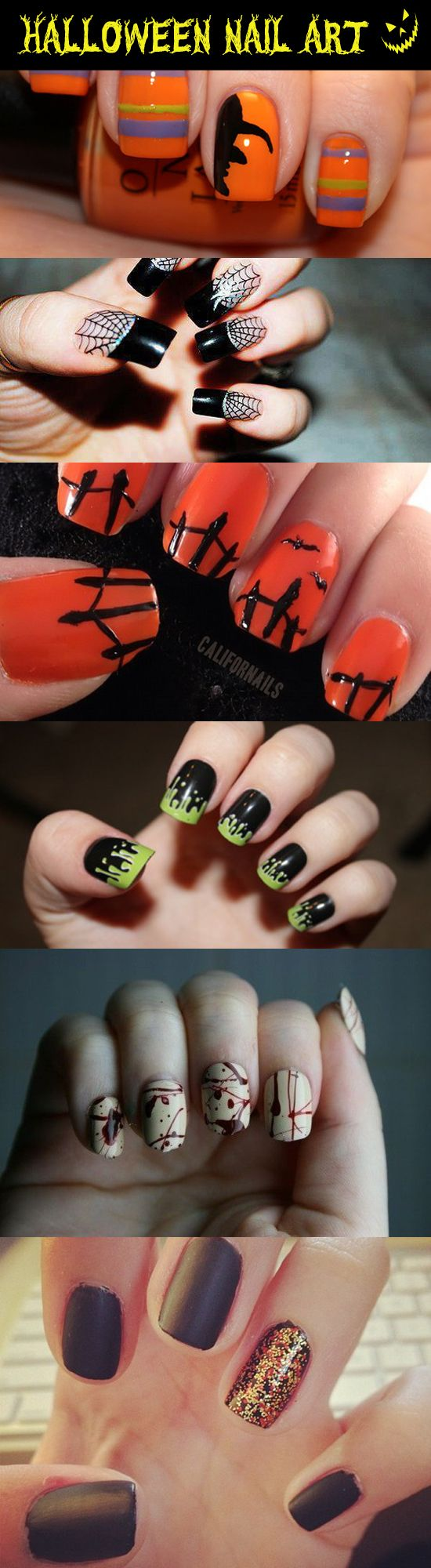 halloween nail art ideas unique