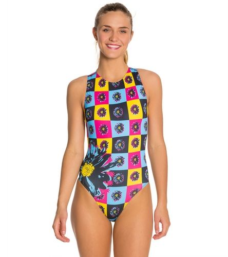 Hardcoresport Women S Pop Water Polo One Piece Swimsuit At Swimoutlet Com Free Shipping One Piece One Piece Swimsuit Water Polo Suits