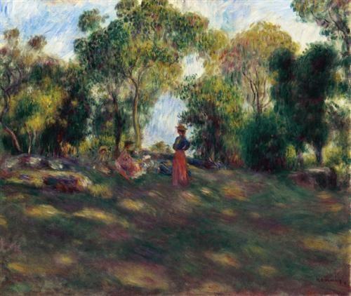 Landscape - Pierre-Auguste Renoir