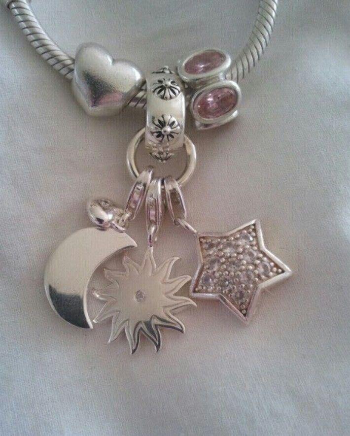 bfca0532b Pandora bracelet with sun..moon &star charms from thomas Sabo | Sun ...