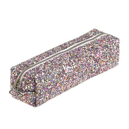 Girls  glitter pencil case - fun finds - Girl s jewelry   accessories - J. Crew c175b9b06c436