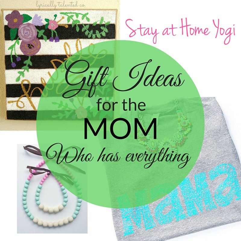 Gift Ideas For The Mom Who Has Everything | Holiday gift guide, Holiday fun