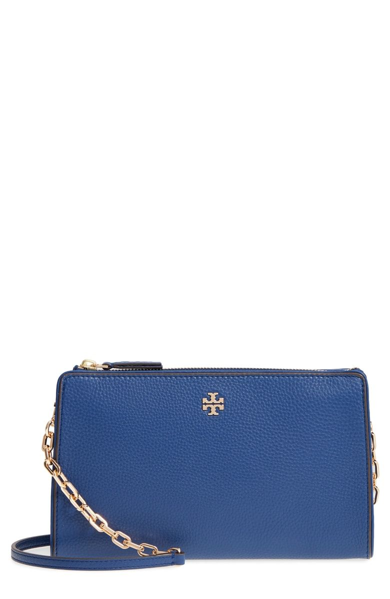 6d00839c718 Free shipping and returns on Tory Burch Marsden Leather Wallet Crossbody Bag  at Nordstrom.com. A slim silhouette and gleaming hardware make this ...
