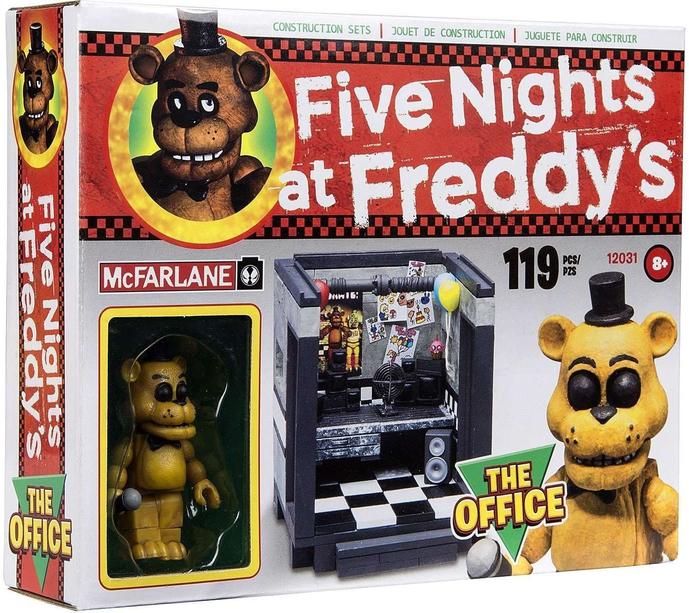 "The Office (also known as the Security Guard's Office) is the ""safest"" room in the Freddy Fazbear's Pizza Restaurant or that's what what each new security guard thinks when they start their first nigh"
