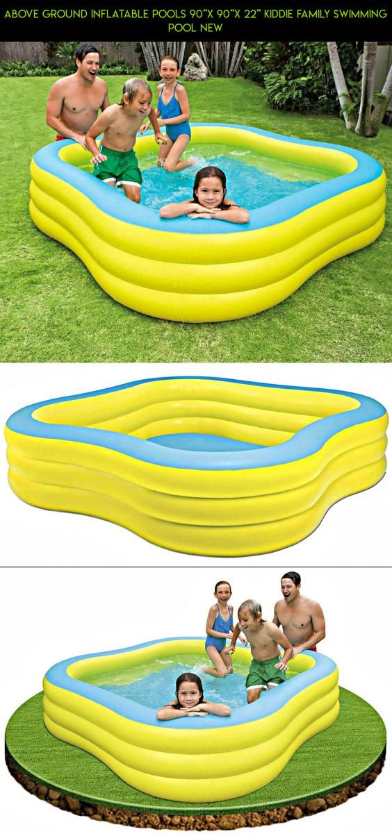 above ground inflatable pool.  Above Above Ground Inflatable Pools 90u0027u0027x 22u0027u0027 Kiddie Intended Pool