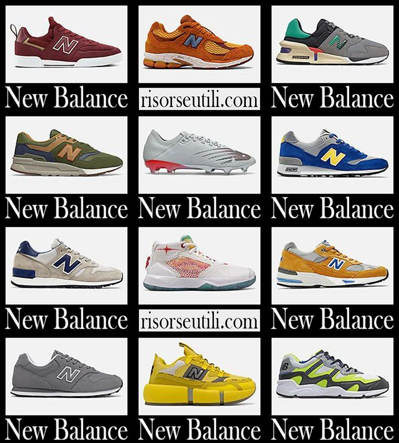 New arrivals New Balance sneakers 2021 men's shoes   New balance ...