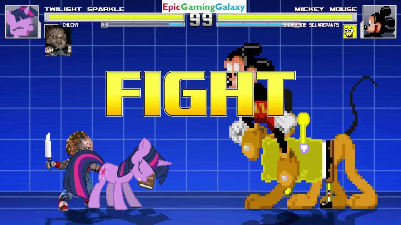Chucky The Killer Doll & Twilight Sparkle VS SpongeBob SquarePants & Mickey Mouse In A MUGEN Match https://t.co/5Br93fNrdu #IFTTT