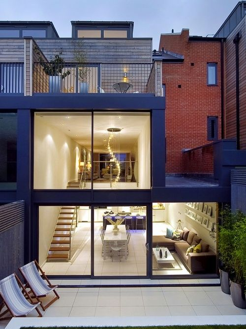 townhouse london north lli architecture exterior milk houses interiors casas square staircase want pads colonial ler ive done ever dream