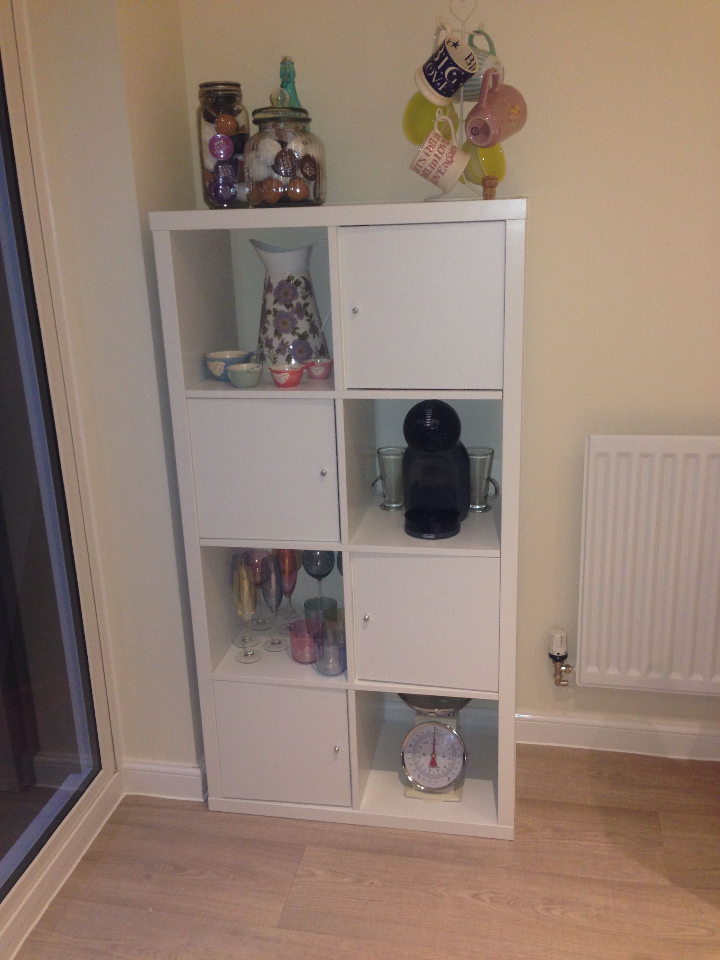 Ikea Kallax In Kitchen Unit For Extra Kitchen Storage Perfect