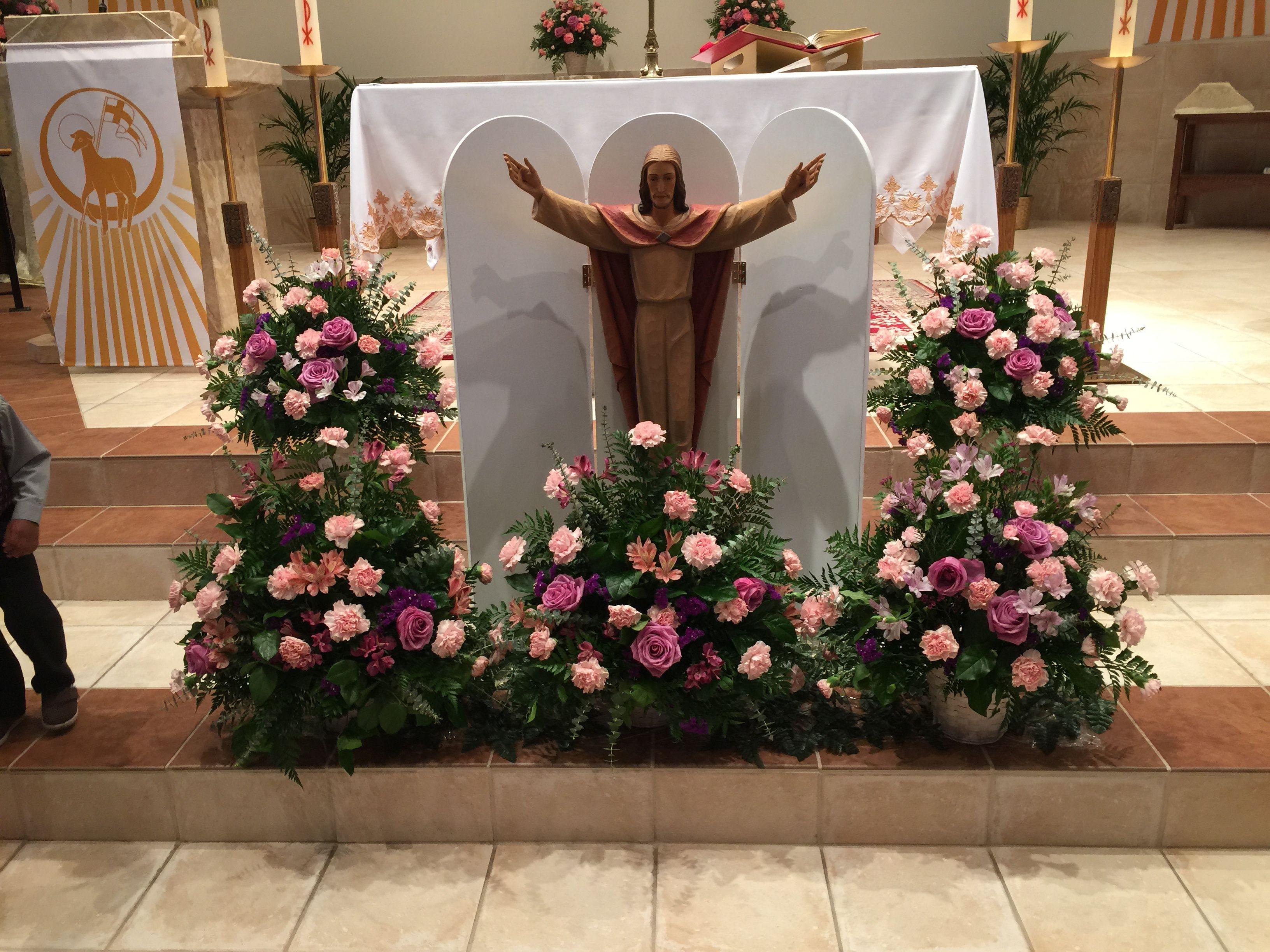 Image result for spiritual floral altars Altar