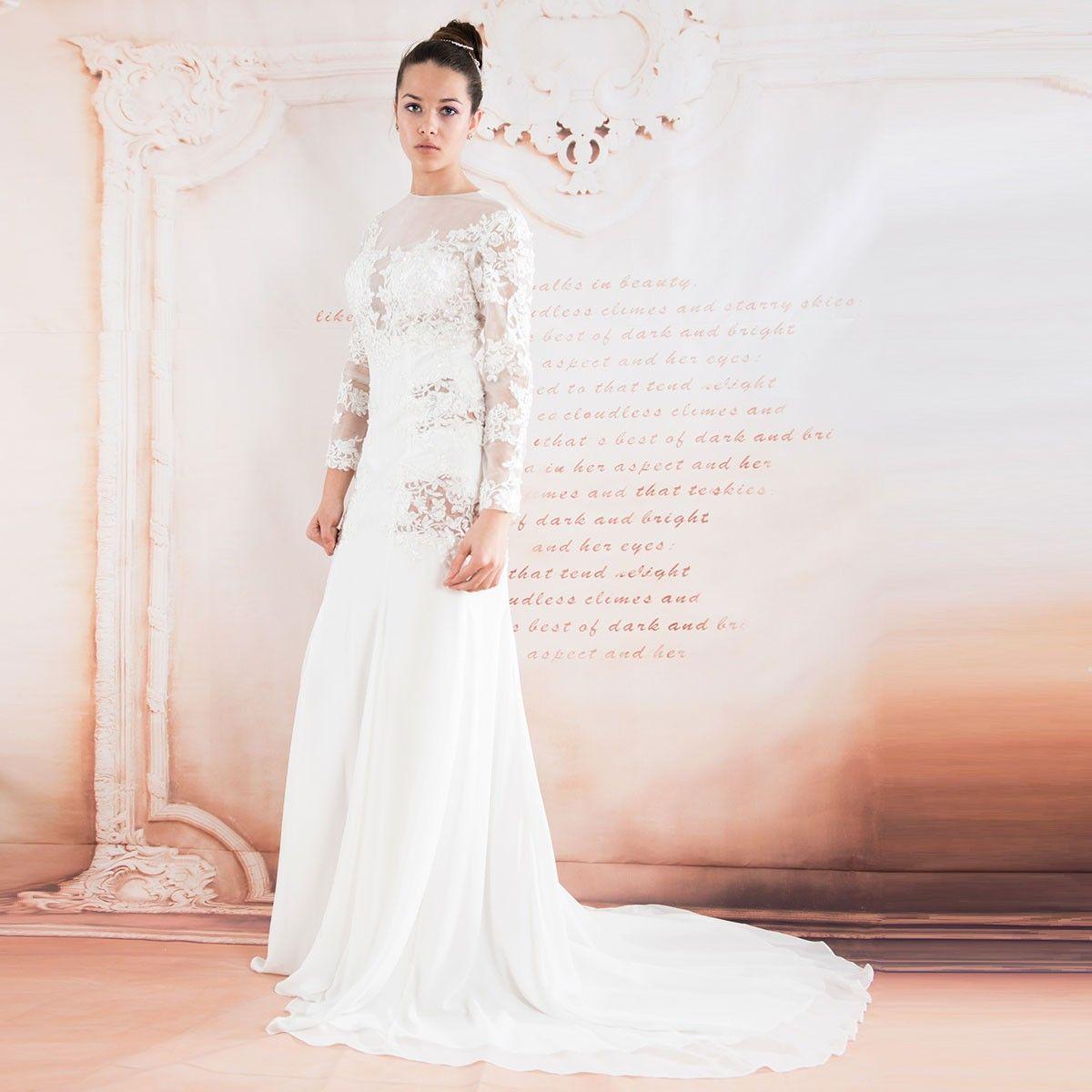 Lace dress wedding  Französisch Spitze lange Ärmel sexy Hochzeitskleid  My stuff