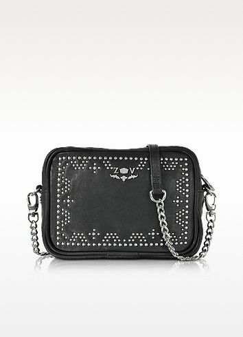 ZADIG   VOLTAIRE Xs Boxy Boho Leather Crossbody Bag.  zadigvoltaire  bags   canvas  crossbody  leather  lining  shoulder bags  hand bags   258b30e287808