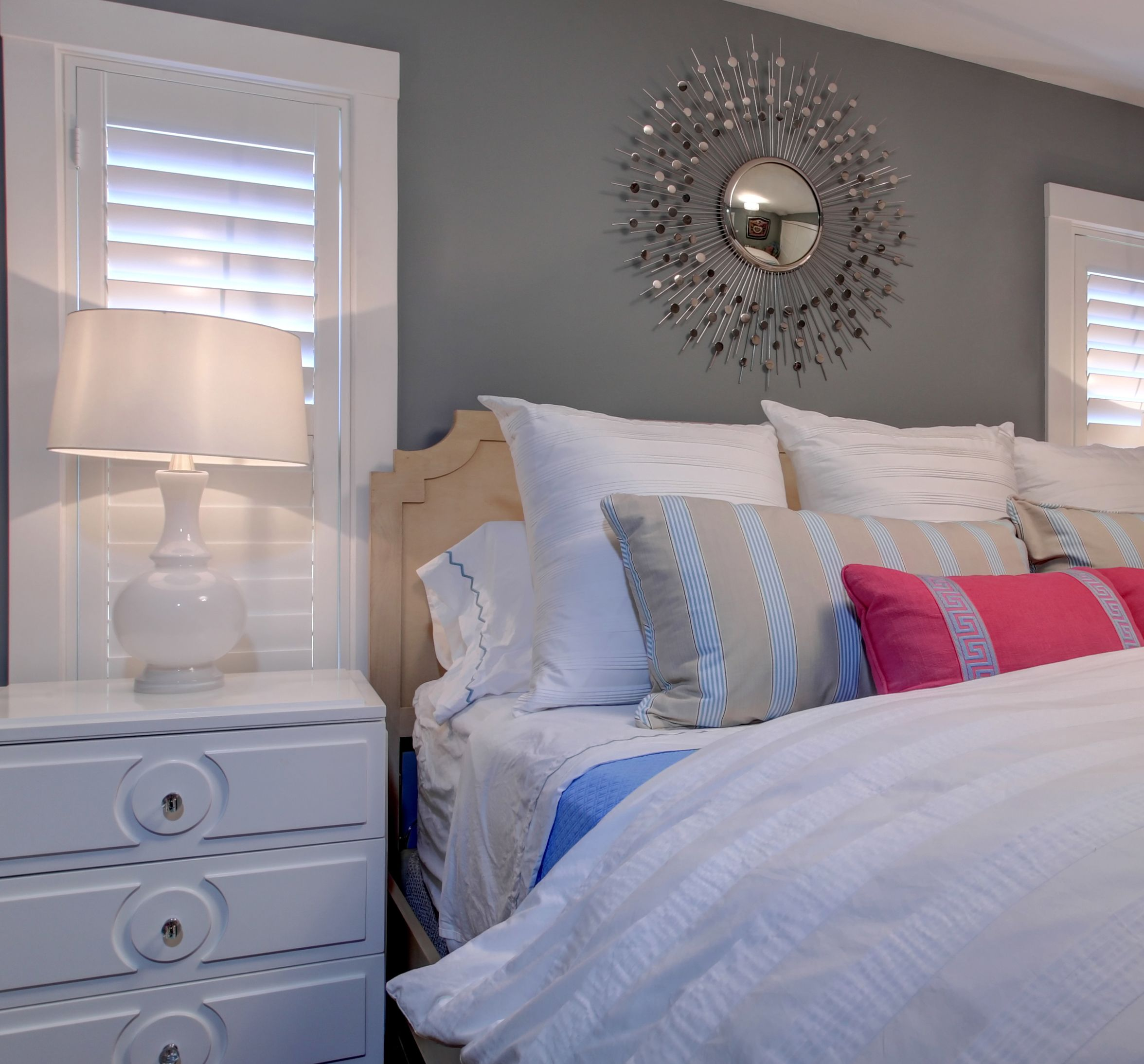 End Accent Wall Midway: Master Bedroom