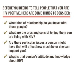 before you decide to tell people that you are hiv-positive, there, Skeleton