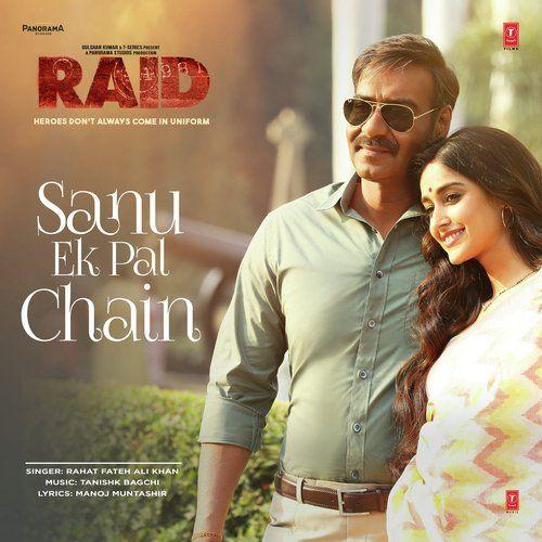 sanu ek pal chain na aave lyrics | Mp3 song download, Mp3