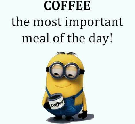 COFFEE the most important meal of the day! SMARTBoard daily