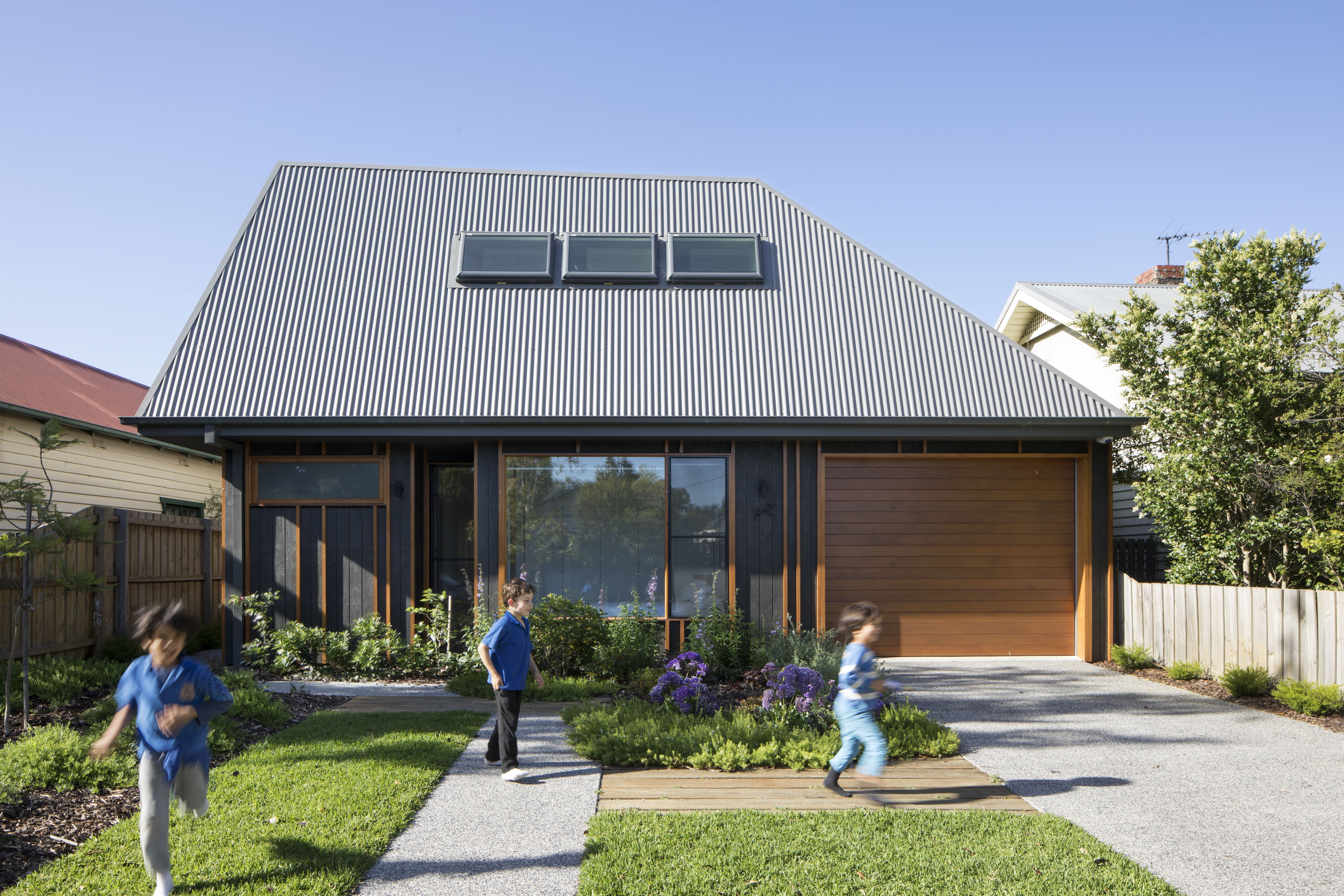 Photo 2 Of 10 In A Family Home In Australia Features A Playful Architecture Thornbury House Roof