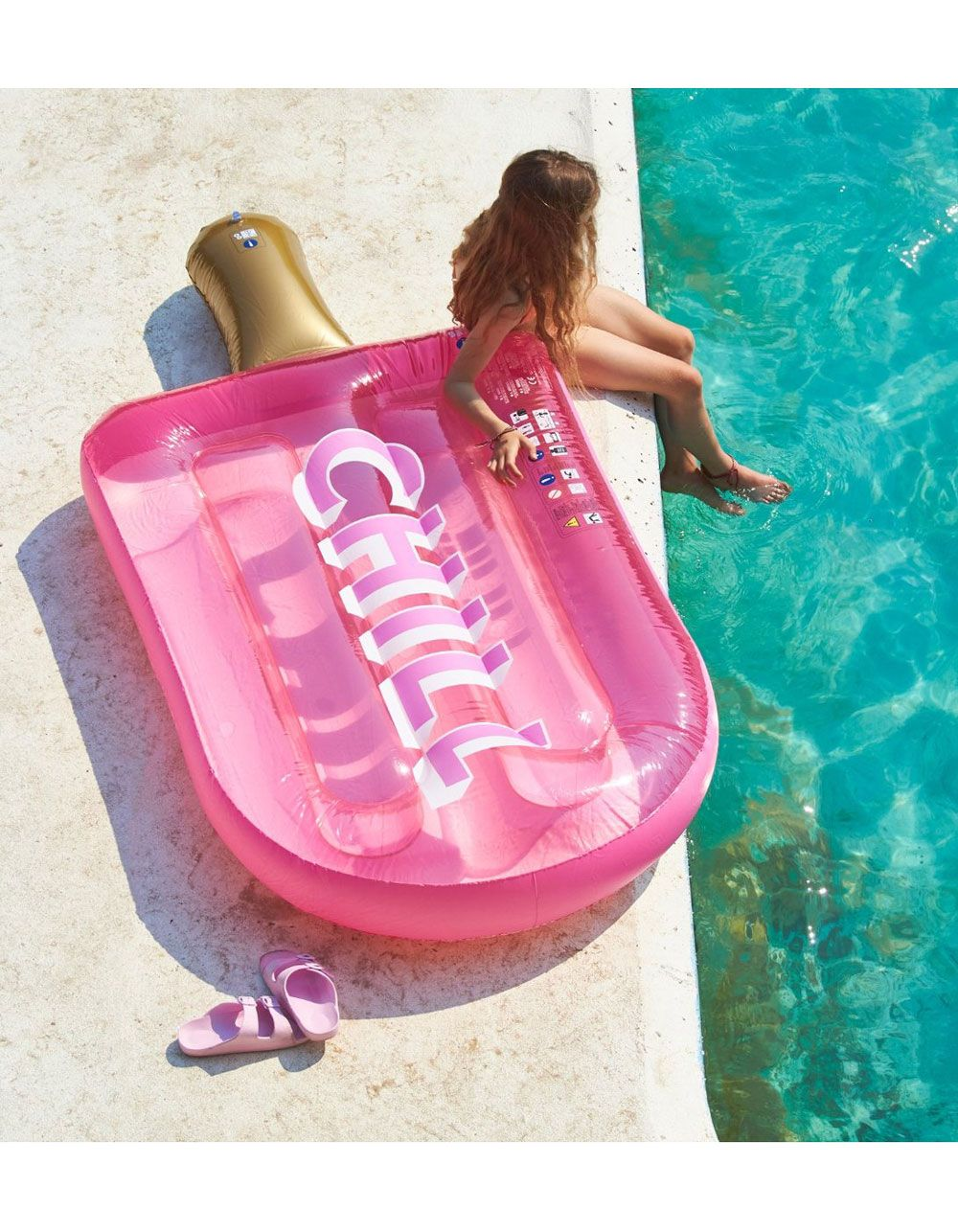 Sunnylife Chill Ice Lolly Float Pink S0lliecy Cool Pool Floats Pool Floaties Pool Floats For Kids