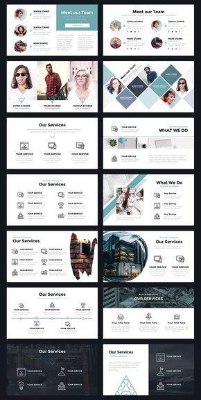 Portal Modern Powerpoint Template  Presentations  Interactive