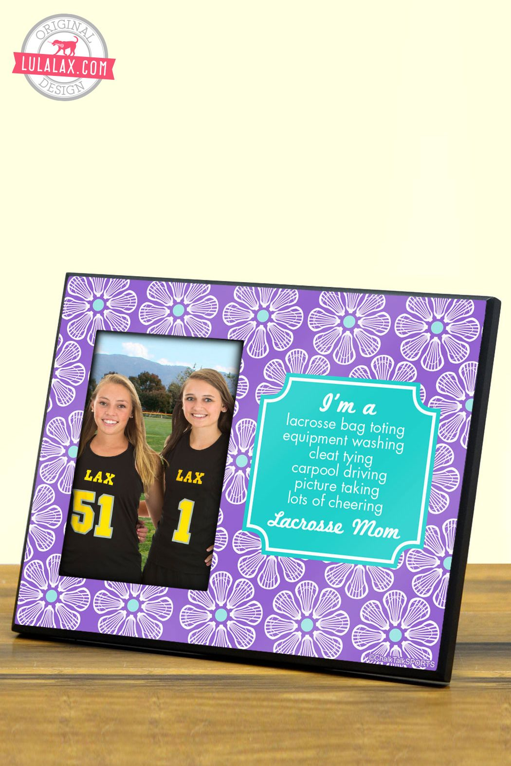 Mommy Frames: The Perfect Gift For A Lacrosse Mom On Mother's Day. Lax
