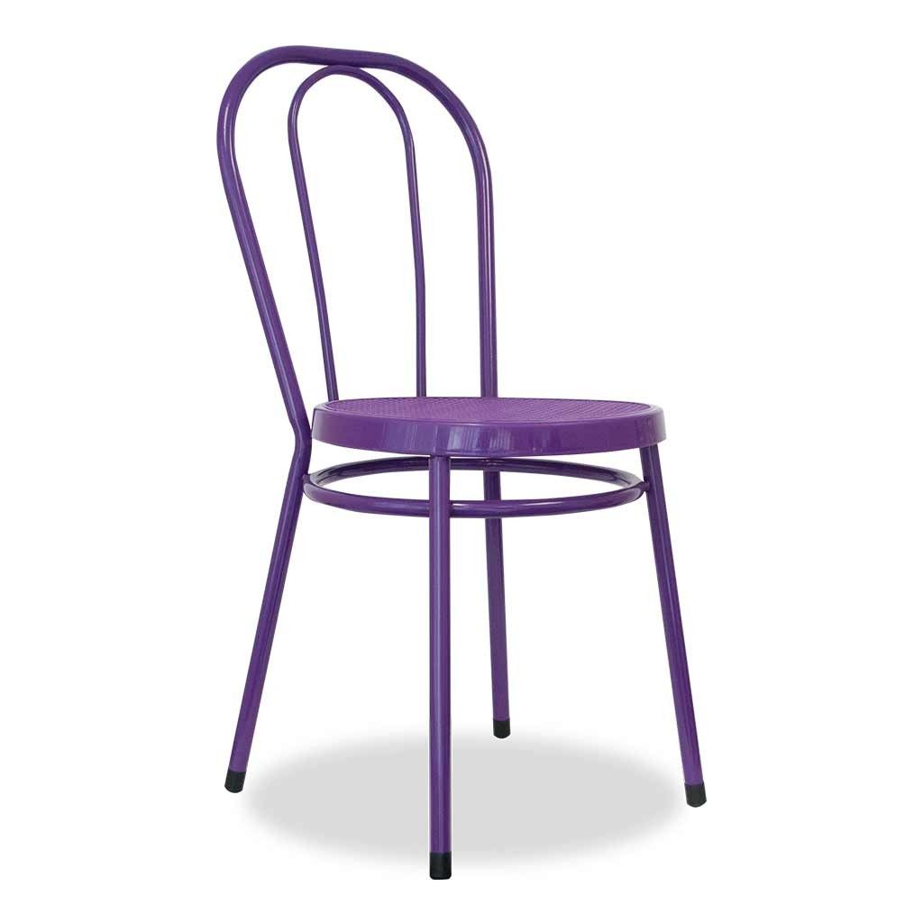 Orchid Purple Rattan Chair